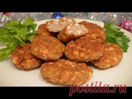 Нежные котлеты из курицы и крабовых палочек / Простые рецепты