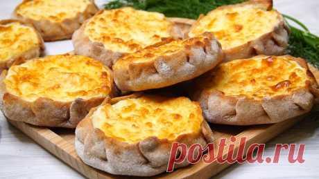 Открытые пирожки с начинкой. Карельские калитки | Готовим с Калниной Натальей | Яндекс Дзен