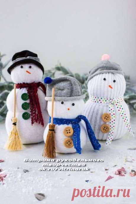 Снеговики в разных техниках. Сохраняйте и берите на заметку! | Люблю Себя