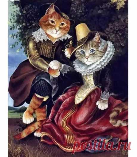 Сьюзен Херберт - Мир - Это театр кошек. Иллюстрации - Жизнь - театр - медиаплатформа МирТесен