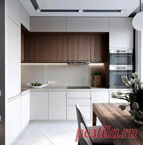 4 материала для фасада кухни | Роскошь и уют