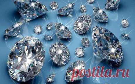 Интересное об алмазах