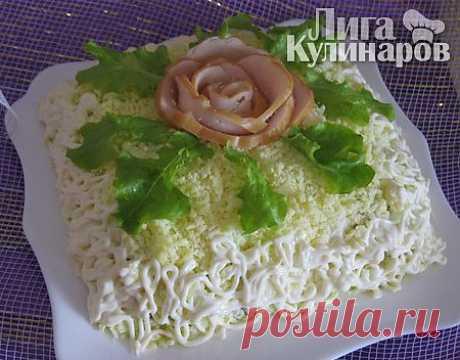 La ensalada Especial — la receta poshagovyy de la Liga de los Gastrónomos