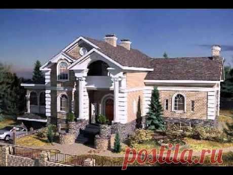 ▶ Красивые дома и уютные домики.avi - YouTube