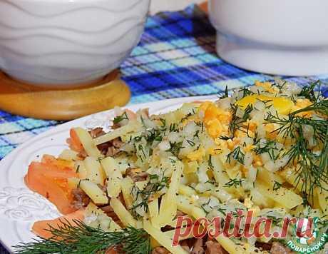 Вкусный мясной салат – кулинарный рецепт