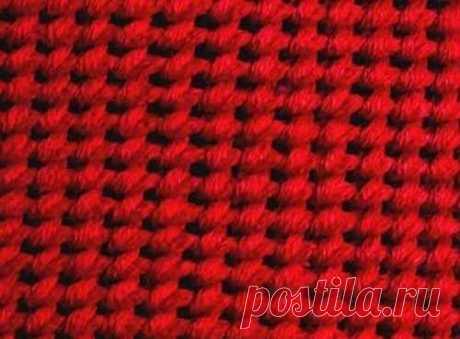 Эфиопская резинка  Вязание «эфиопской резинки» начинается с изнаночной стороны! С лицевой стороны, предварительно, надо набрать любое необходимое количество лицевых петель. Рапорт вязания – 2 ряда. Слово «вязать», возм…