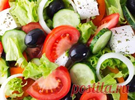 Греческий салат по-болгарски - Портал «Домашний»