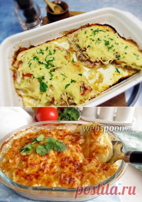 Курица в шубе - рецепт с фото / Простые рецепты