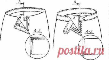 Как пришить пояс к юбке? | Bonanzanna