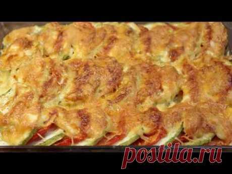Запеканка из кабачков – пошаговый рецепт с фотографиями