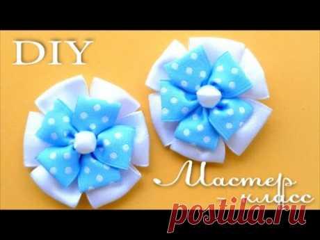 Как сделать Красивые Бантики / Satin Ribbon Bows Tutorial / ✿ NataliDoma - YouTube