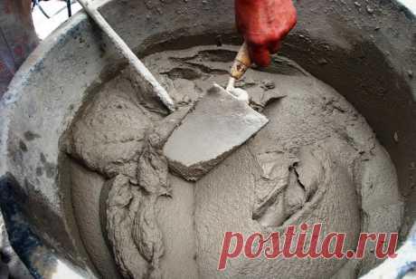 Як збільшити міцність і якість цементного розчину в кілька разів. Ділюся секретом – Мій Світ