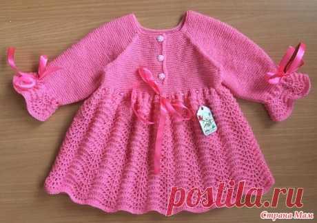 Платья для малышек спицами - Вязание для детей - Страна Мам