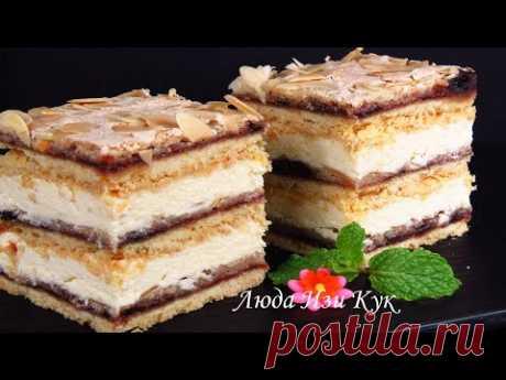 Великолепный ТОРТ К ПРАЗДНИЧНОМУ СТОЛУ польский торт Пани Валевская Новый Год 2020