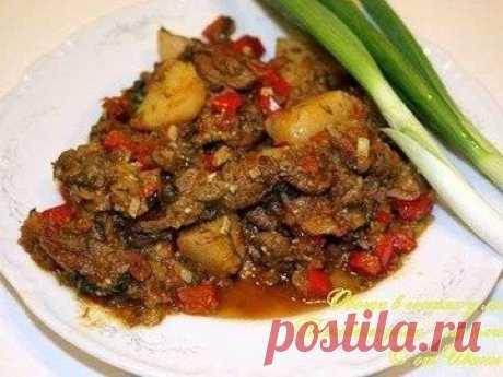 Овощи с мясом - простой и вкусный рецепт с пошаговыми фото