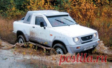 «Автомобильный Франкенштейн» Российский джип «АВТОС-2317» для села, который собирали из пластика
