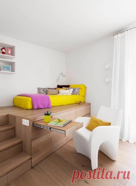 Los cuartos para niños dan bolshy el vasto espacio de la fantasía, sino también la exigencia a ellos más alto que al dormitorio adulto. Miráis todavía 12 mil de foto de las ideas de todo el mundo >>