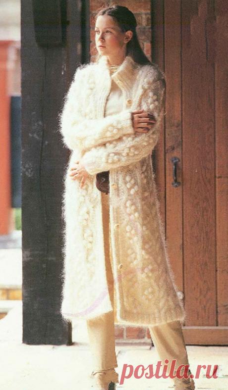 El abrigo blanco | Shkatulochka para las laboreras