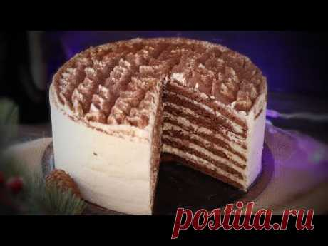 ВКУСНЕЙШИЙ ШОКОЛАДНЫЙ ТОРТ с кремом ТИРАМИСУ и ИРЛАНДСКИМ СЛИВОЧНЫМ ЛИКЕРОМ🍀 Chocolate  cake