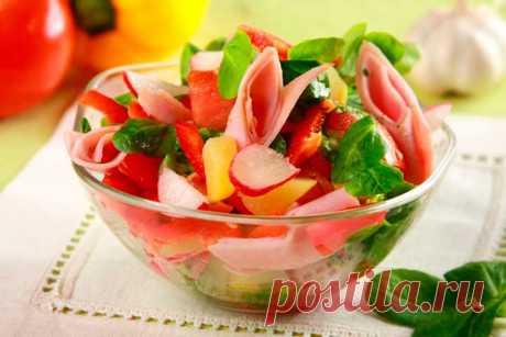 Простой салат с редиской и картофелем – пошаговый рецепт с фото.