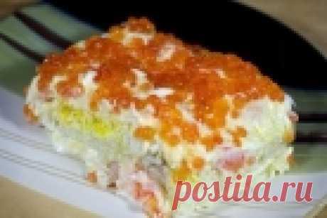 Салат королевский - пошаговый рецепт с фото на Повар.ру