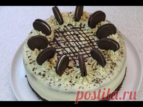 """Торт """"Орео"""" по мотивам известного печенья ✧ Oreo Cake Recipe"""