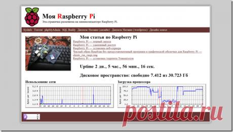 Raspberry Pi - установка веб-сервера - Geek Electronics Пошаговая инструкция по установке веб-сервера на Raspberry Pi. Иметь в распоряжении свой собственный веб-сервер на самом деле очень удобно. Протестировать