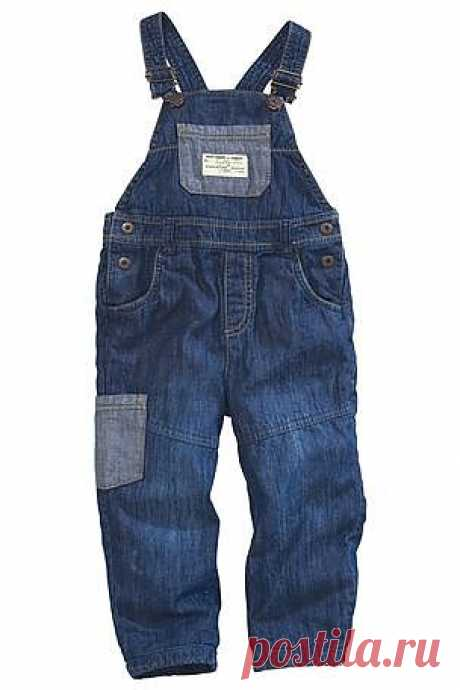 Buy Jersey Lined Dungarees (3mths-6yrs) from the Next UK online shop