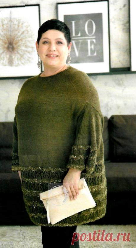 Женские модели спицами и крючком со схемами   Вязание   Яндекс Дзен
