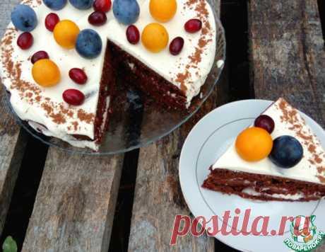 """Торт шоколадный """"Молниеносный"""" – кулинарный рецепт"""