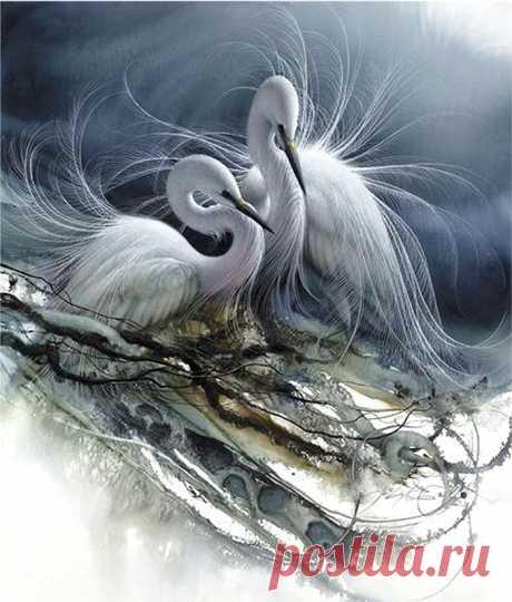 Красота и безмятежность - это внутри... замечательные анималистические картины Ли Богла