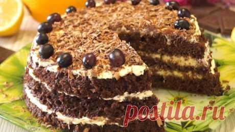 Самый супербыстрый торт. готовится за 15 минут вместе с выпечкой! – пошаговый рецепт с фотографиями