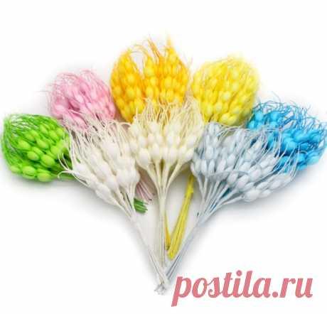 Колоски 10 шт 10 см, 8 цветов