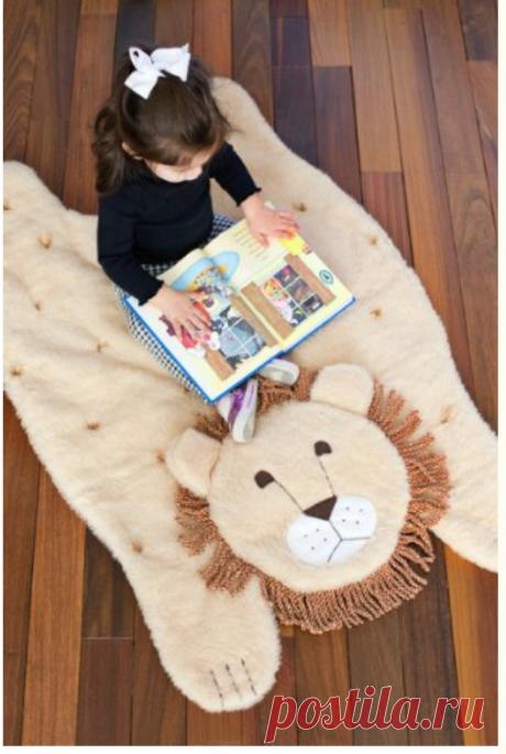 Коврик для детской комнаты. Мастер-класс | Домохозяйка
