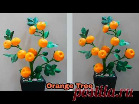 Cara membuat pohon hias BUAH JERUK | Ornamental citrus fruit tree DIY