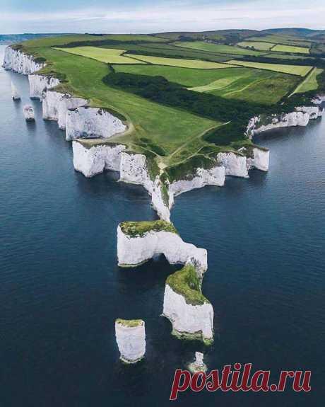 Белые скалы Дувра, Великобритания