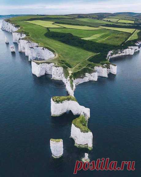 White rocks of Dover, Great Britain