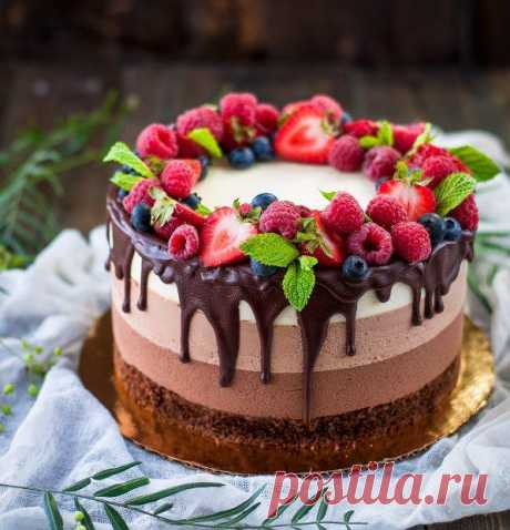 Рецепт торт три шоколада - recepty-blyud.vilingstore.net