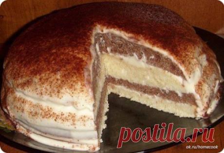 Bon Appétit: Девочки))) урааа... нашла простой рецепт очень нежного и вкусного тортика на кефире!