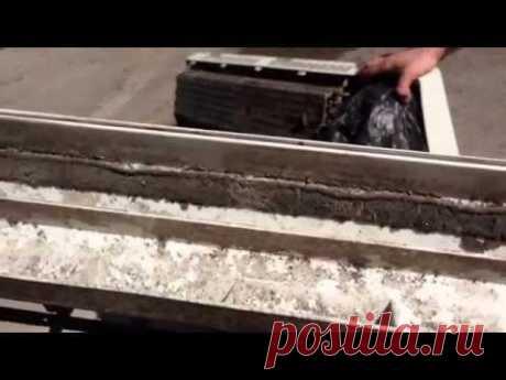 Чистка кондиционера сплит-система, с разборкой блока