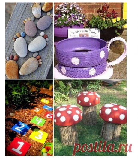 Детская площадка на даче. Рукоделие идеи и советы handmade | ВКонтакте