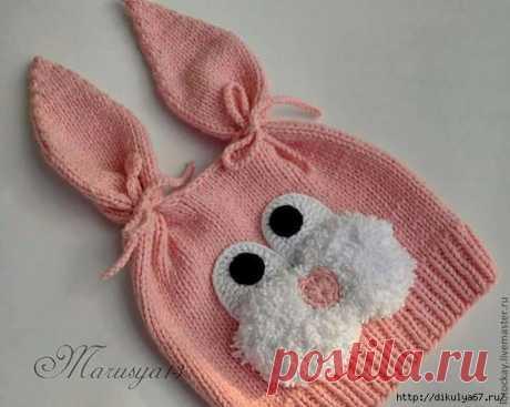 Детские вязаные шапочки и шарфики. Идеи для зимы