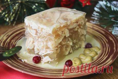 Холодец на новогодний стол, просто объедение, подписчица поделилась вкуснейшими рецептами приготовления.   Вкусняшки от Настяшки   Яндекс Дзен