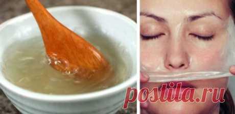 Сливочное масло и желатин для идеально ровного тона лица