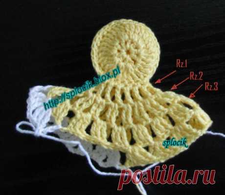 Cómo Hacer una Gallina Tejida a Crochet Fácil - Vídeo, patrones y paso a paso ⋆ Manualidades Y DIYManualidades Y DIY