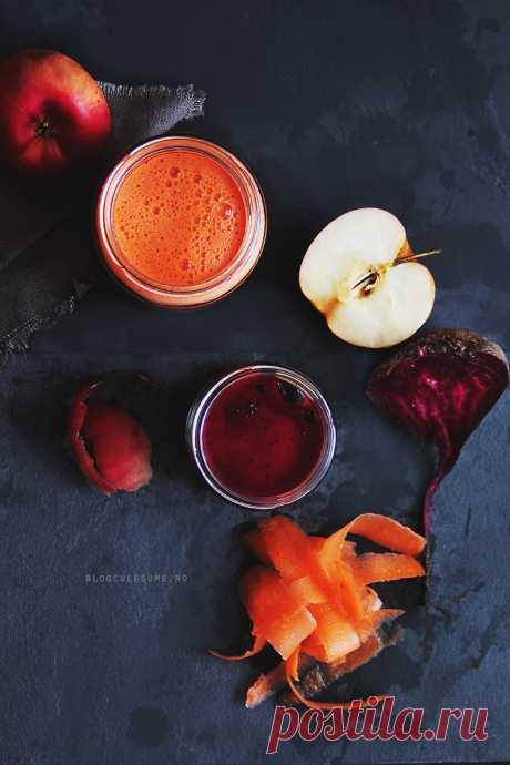 1 свекла, 2 моркови, 1 яблоко. Рецепт от лучшего диетолога в мире