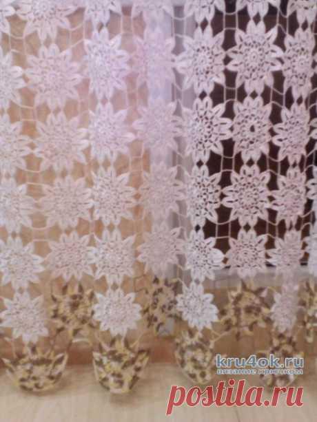 вязаные шторы татьяна саранина простые схемы экономим время на