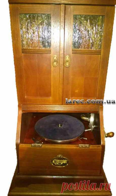 Дорогой подарок мужчине у которого все есть старый граммофон Klingsor | Интернет-магазин подарков Ларец
