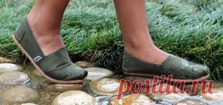 Непромокаемая обувь за 2 минуты — Полезные советы