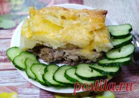 (3) Картофель с фаршем в духовке - пошаговый рецепт с фото. Автор рецепта Юлия Филиппова . - Cookpad